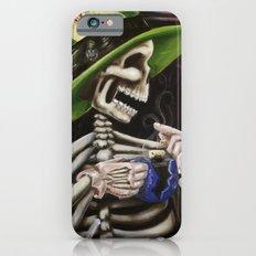 Skeleton Tea Party iPhone 6s Slim Case