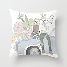 Date Night Throw Pillow