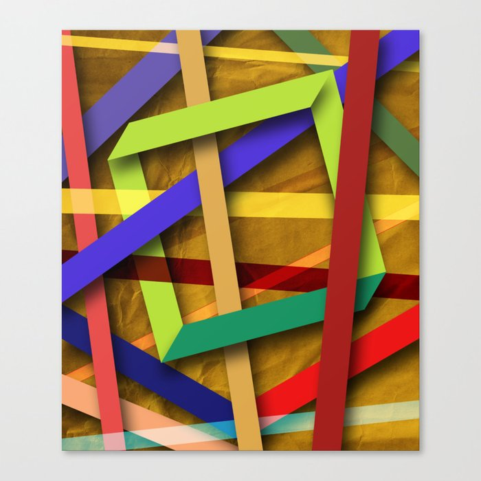 Abstract #356 Canvas Print