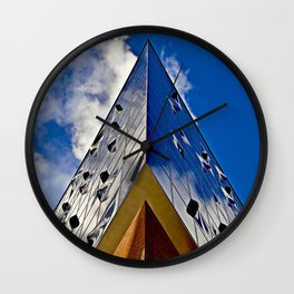 When music touches the blue sky Wall Clock