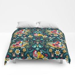 Technological folk art Comforters