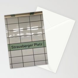 Strausberger Platz - Berlin Stationery Cards
