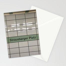 Strausberger Platz - Berlin Stationery Cards
