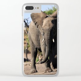 Charge. Clear iPhone Case