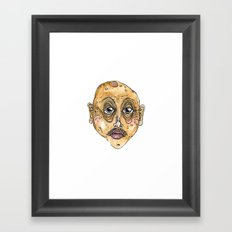 old man 1 Framed Art Print