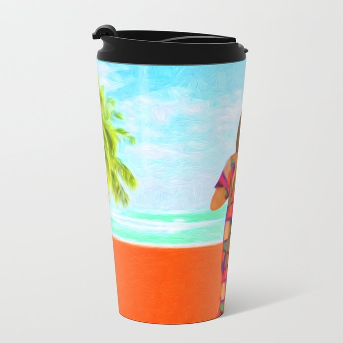 Shall I Compare Thee To A Summer's Day? Metal Travel Mug