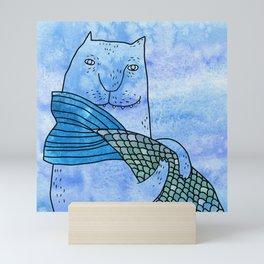 Fish tail Mini Art Print
