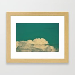 Cloud Life Framed Art Print
