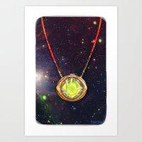 enerjax Art Prints featuring Eye of Agamotto by enerjax