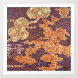 Hidden Patterns Art Print