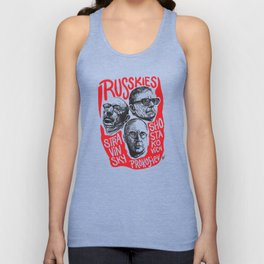 Russkies-Russian composers Unisex Tank Top