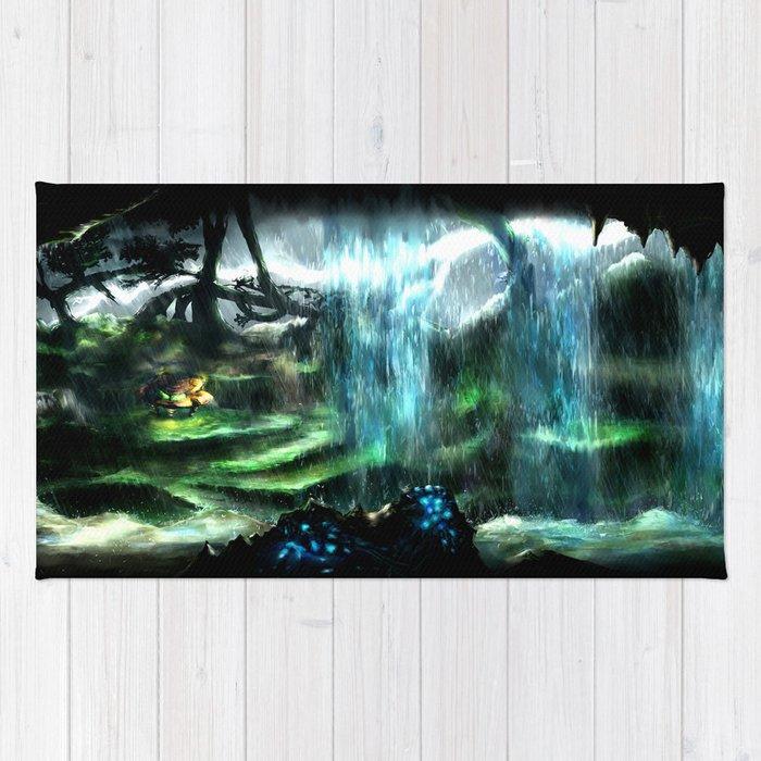 Metroid Metal: Tallon Overworld- Where it All Begins Rug