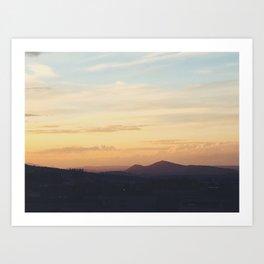 Desert Sky Art Print
