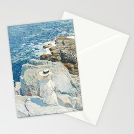 The South Ledges, Appledore - Childe Hassam Stationery Cards