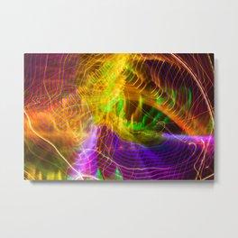 Rainbow lights Metal Print