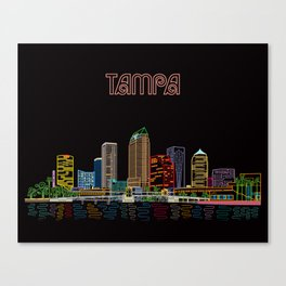 Tampa Circuit Canvas Print