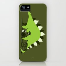 Crude oil comes from dinosaurs iPhone (5, 5s) Slim Case