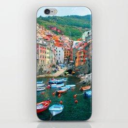 Italy. Cinque Terre marina iPhone Skin