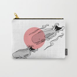 Finger Whales Carry-All Pouch