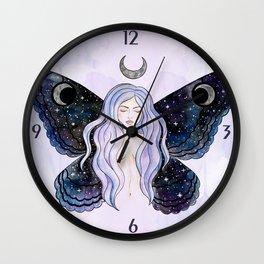Cosmic Fairy Wall Clock