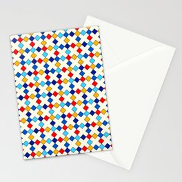PETITS LOSANGES COLORES Stationery Cards