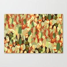 Splotch Dots Canvas Print