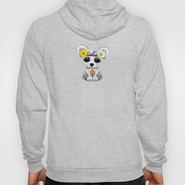 Cute Baby Polar Bear Hippie Hoody