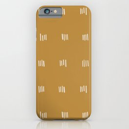 desert checks iPhone Case