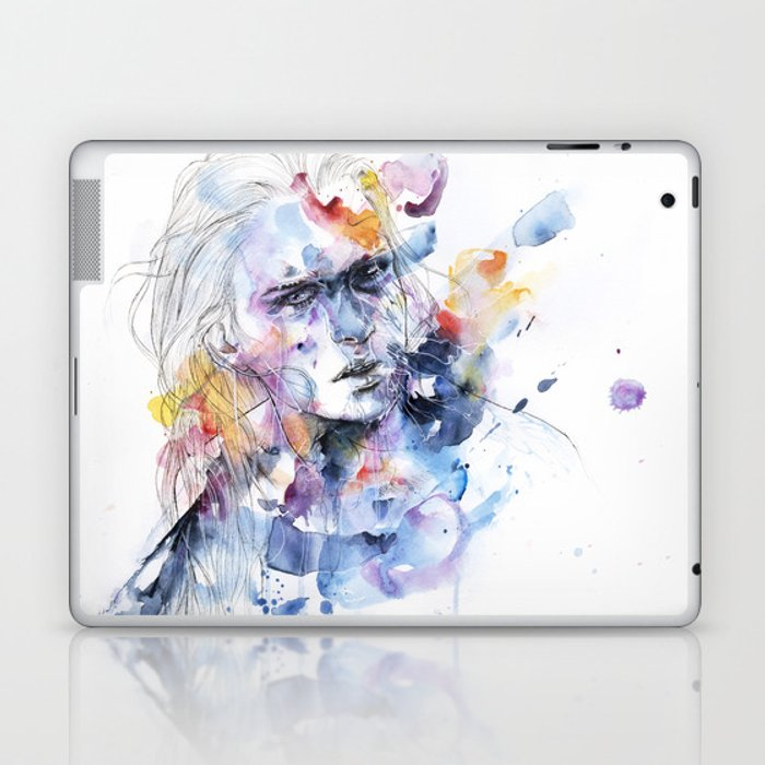 cold crossing Laptop & iPad Skin