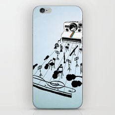 musical moment iPhone & iPod Skin