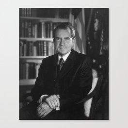 Richard Nixon - 37th President of the United States Canvas Print