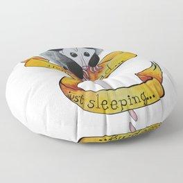 Not dead... just sleeping... Floor Pillow