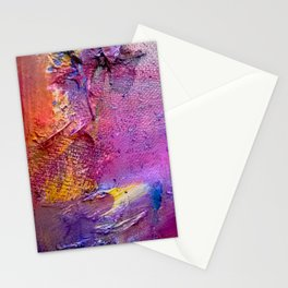Textural Vibrance Stationery Cards