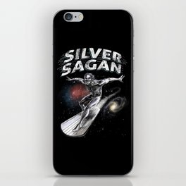 Silver Sagan iPhone Skin