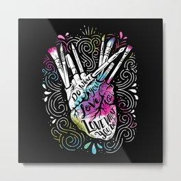 A Heart For Art Metal Print
