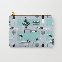 Art Deco Swimmers Carry-All Pouch