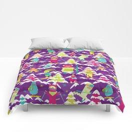 Fresh Meowder Comforters