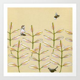 Forest Dwellers - Flora & Fauna Art Print