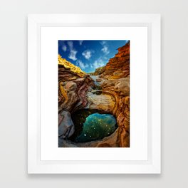Ernst Canyon, Big Bend Framed Art Print