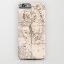 Johann Bayer - Uranometria / Measuring the Heavens (1661) - 30 Aquarius iPhone Case