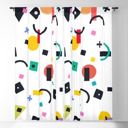 COLORFUL LITTLE NUGGETS Blackout Curtain