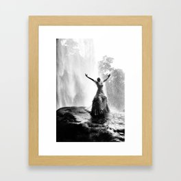 Bride with liberty Framed Art Print