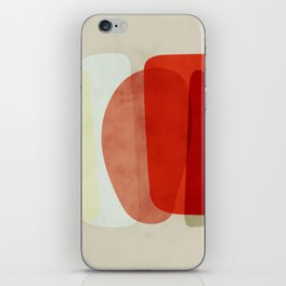 shapes modern abstract iPhone Skin