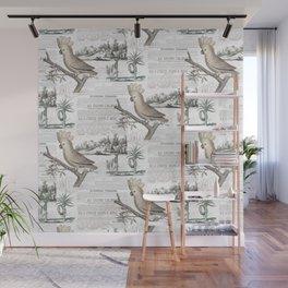 Paris Cockatoo Toile Wall Mural