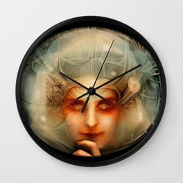 The Chimera (Black) Wall Clock