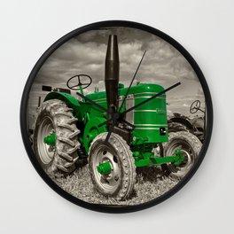 Green Marshall Wall Clock