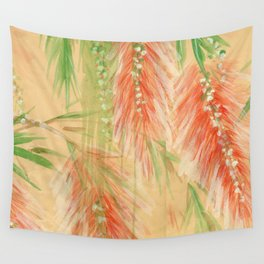 red weeping willow Wall Tapestry