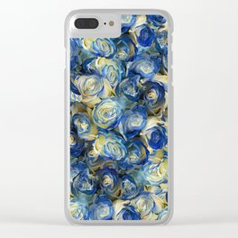 Danube Sparkling Roses Clear iPhone Case