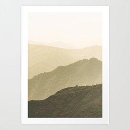 Cali Hills Art Print