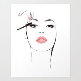 Lash By Lash Art Print